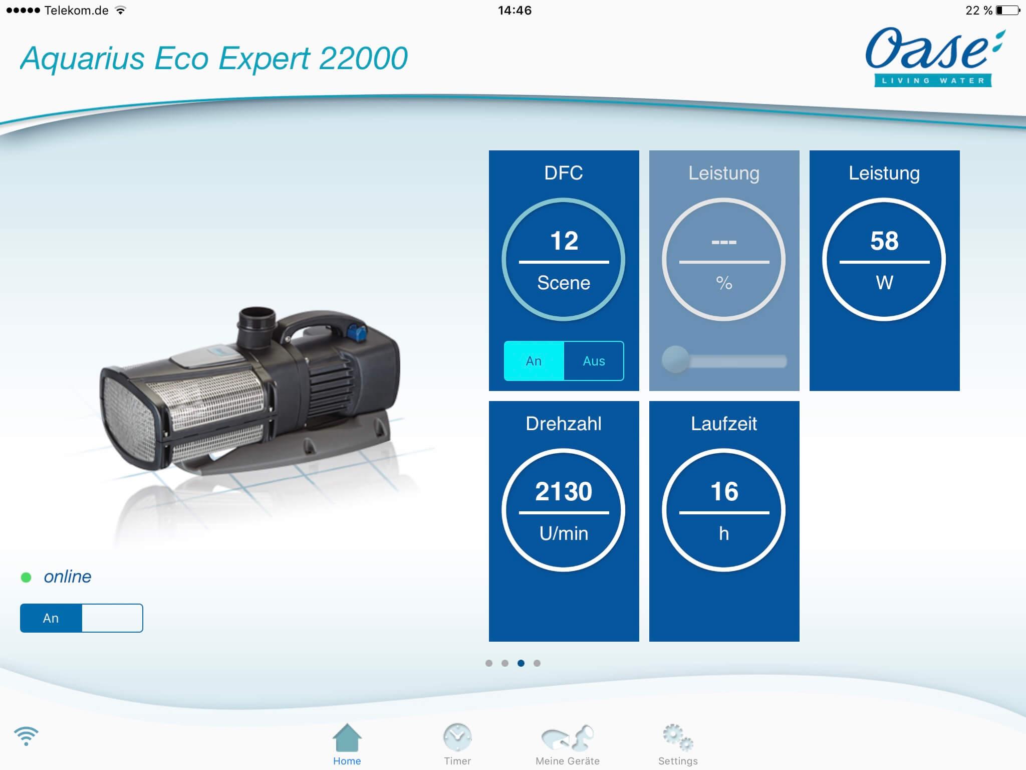 Aquarius Eco Expert - OASE App 2