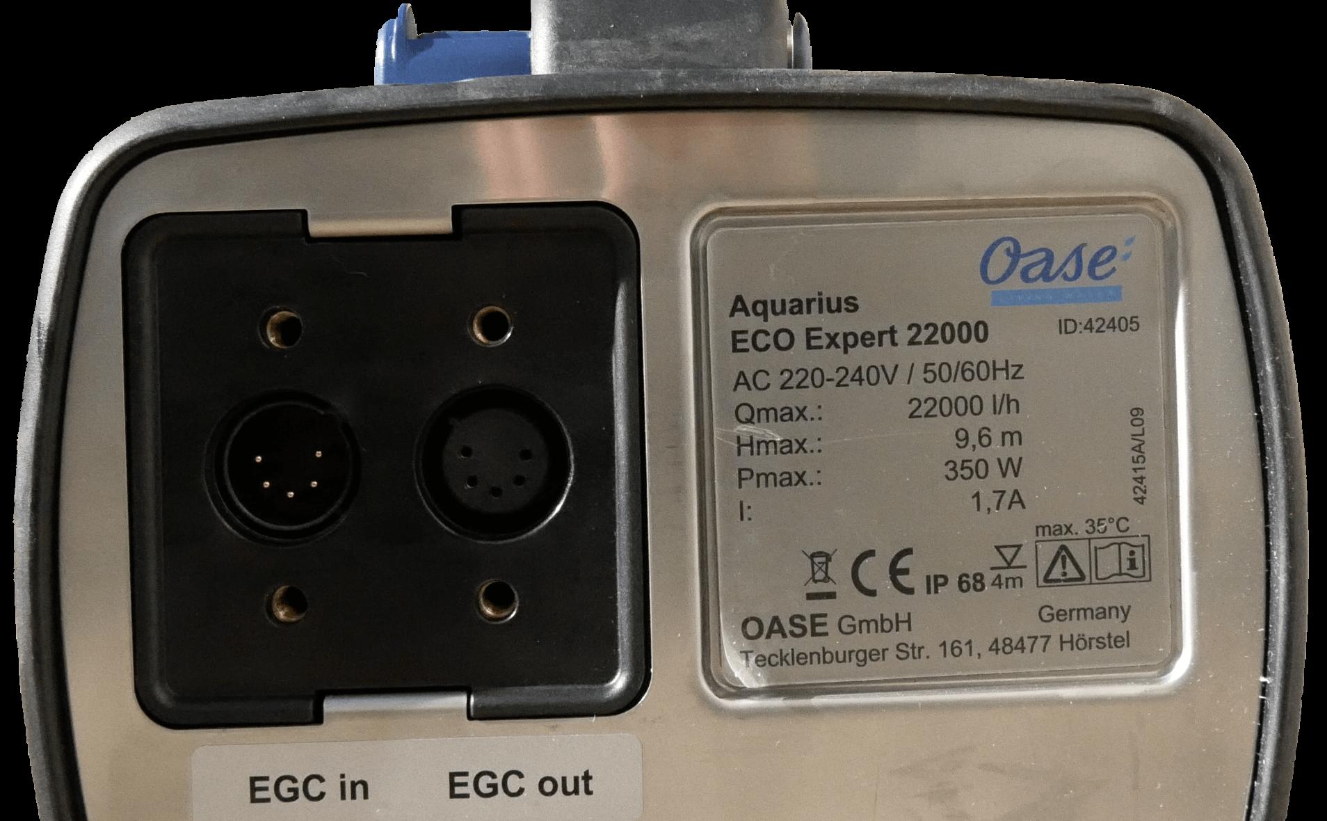 EGC-Anschluss offen