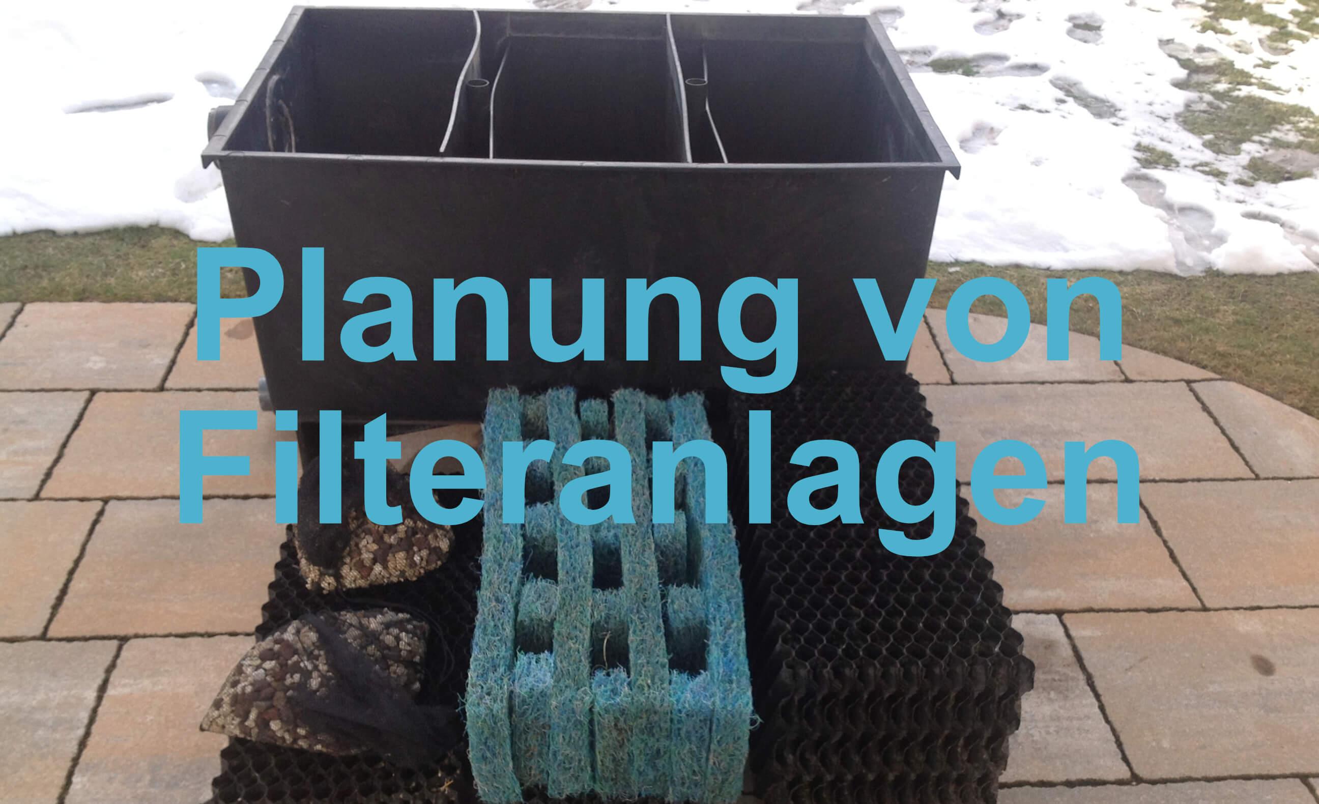 Planung von Filteranlagen