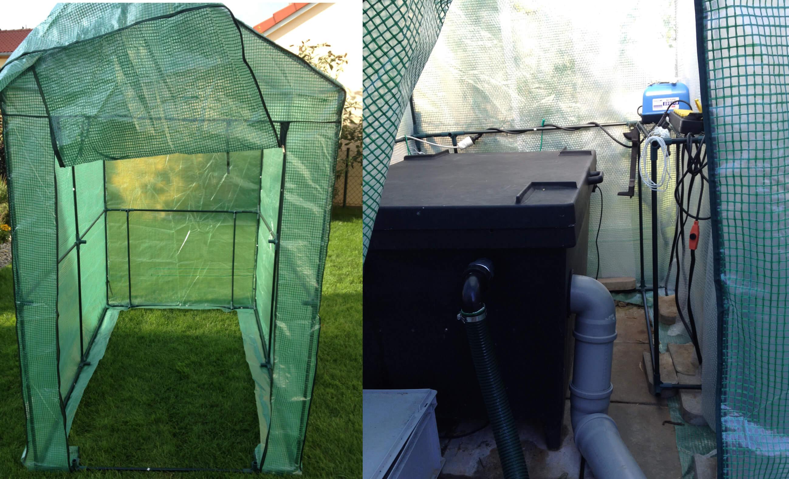 Winterschutz für den Gartenteich