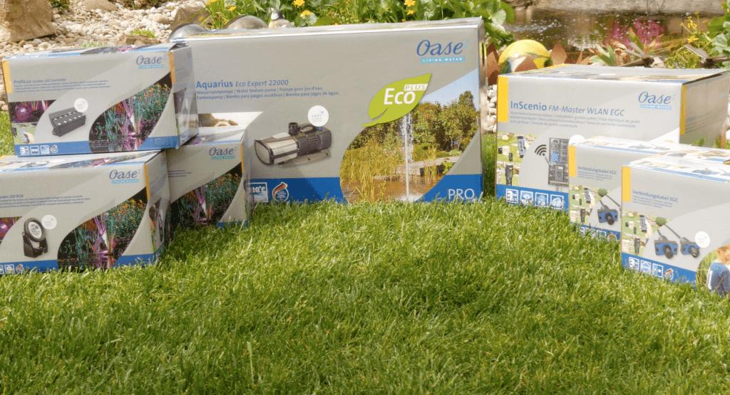 oase easy garden control egc im test teil 1 gartenteich. Black Bedroom Furniture Sets. Home Design Ideas
