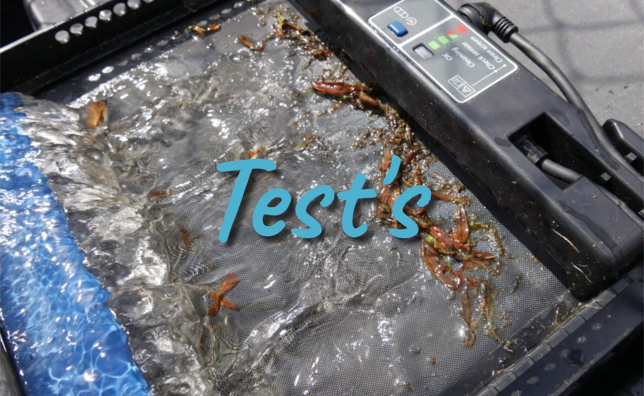 Gartenteich Test's