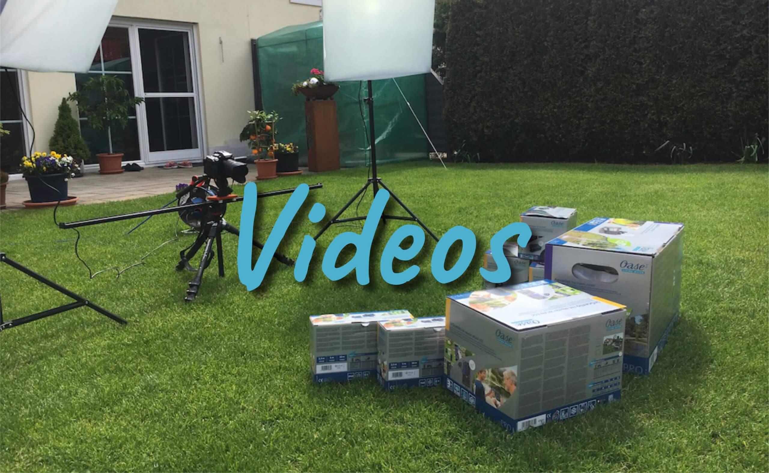 Gartenteich Videos